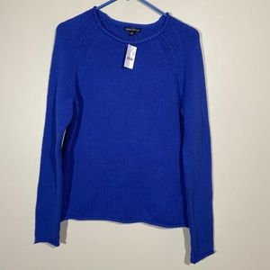 NWT J Crew Mercantile Roll Neck Pullover Sweater S